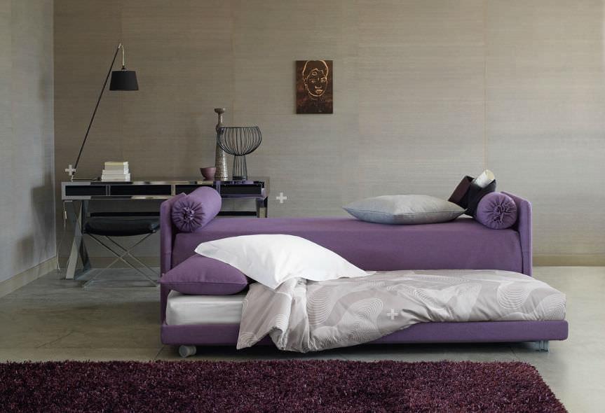 Letto Con Cassettiera : Letto con letto estraibile singolo moderno con cassetti