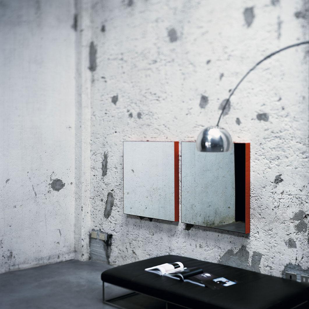 Specchio a muro / moderno / quadrato   giano a parete by opera ...