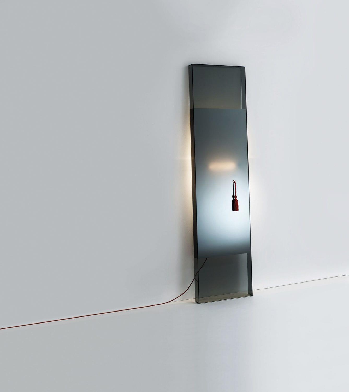 Specchio a muro / moderno / rettangolare / luminoso - DIVA - GLAS ...