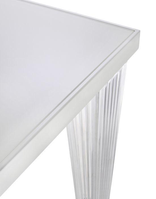 Tavoli Da Pranzo Kartell.Tavolo Da Pranzo Moderno In Vetro In Metallo In Poliestere