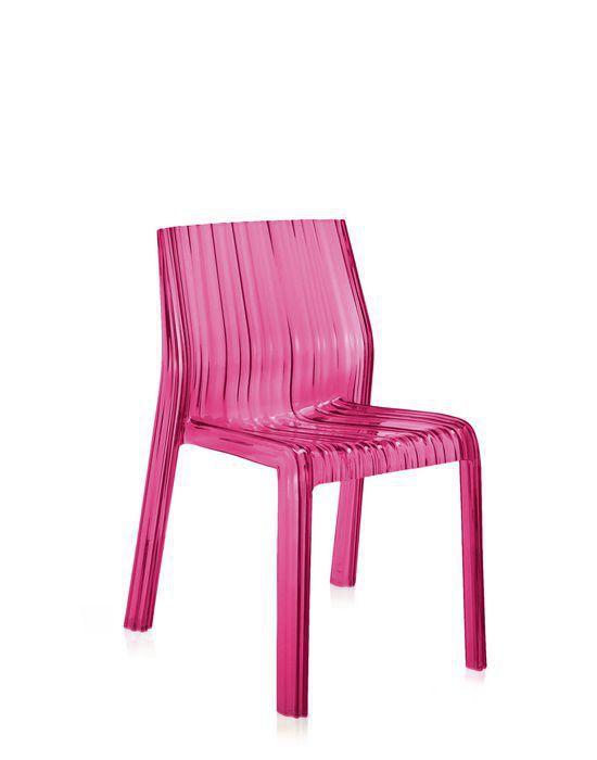 Sedia moderna / ergonomica / in policarbonato / trasparente - FRILLY ...
