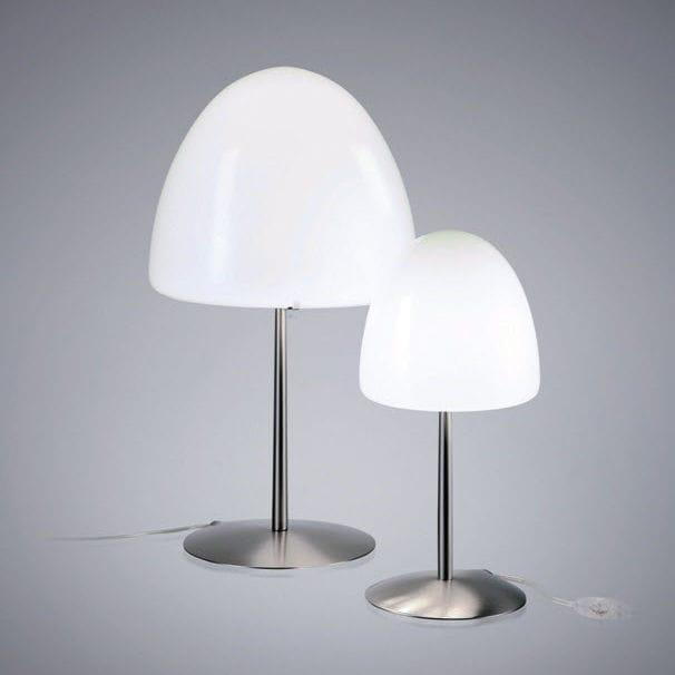 Lampada da tavolo / moderna / in metallo / in vetro soffiato ...