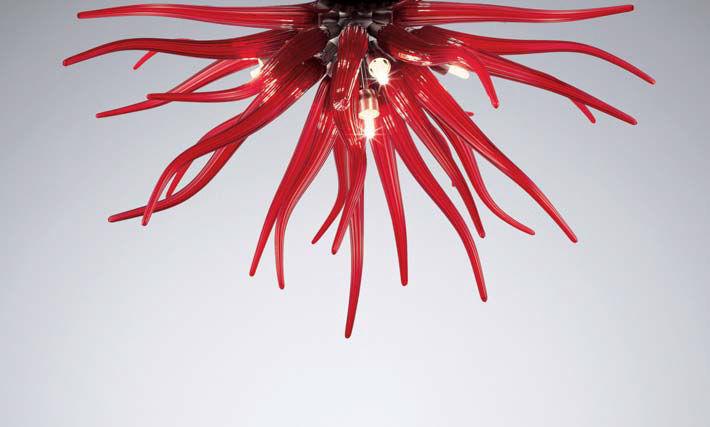 Plafoniere Moderne In Vetro Di Murano : Lampadario medusa la murrina prezzo: l arte del vetro