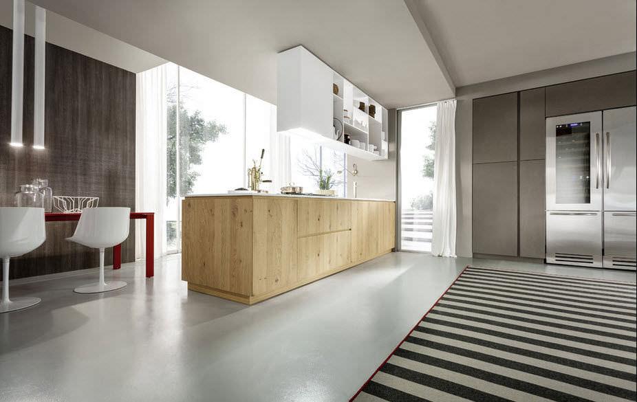 Cucina moderna / in legno massiccio / in legno - MATERIKA - Pedini
