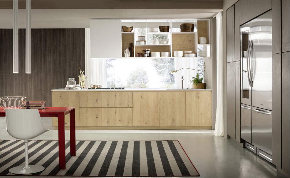 Cucina moderna / in legno / in legno massiccio   materika   pedini