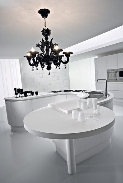 Cucina moderna / in legno - ARTIKA - Pedini