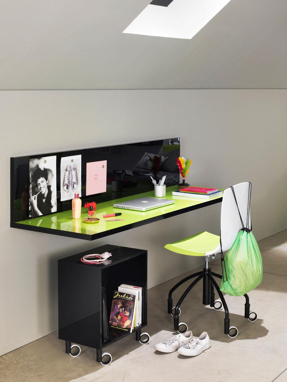 scrivania in legno / moderna / per bambini - kubika: compozione 2 ... - Scrivania In Legno Per Bambini
