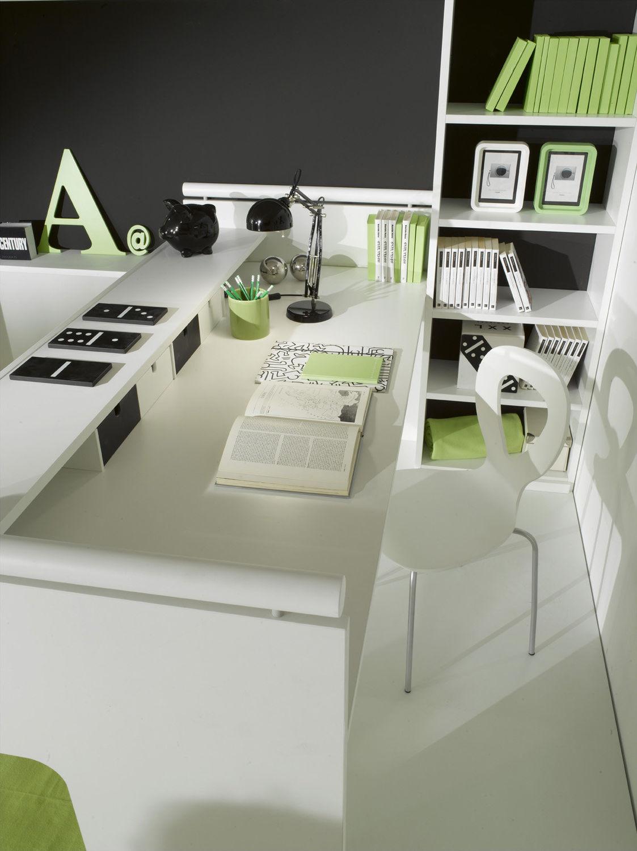 scrivania in legno / moderna / con letto estraibile / per bambini ... - Scrivania In Legno Per Bambini