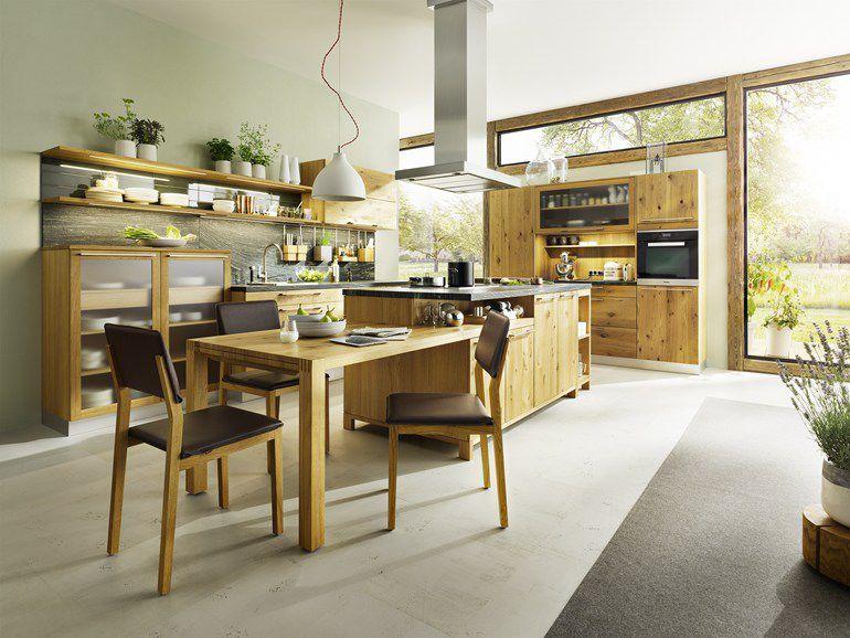 Cucina moderna / in quercia / in noce / in ciliegio   loft   team ...
