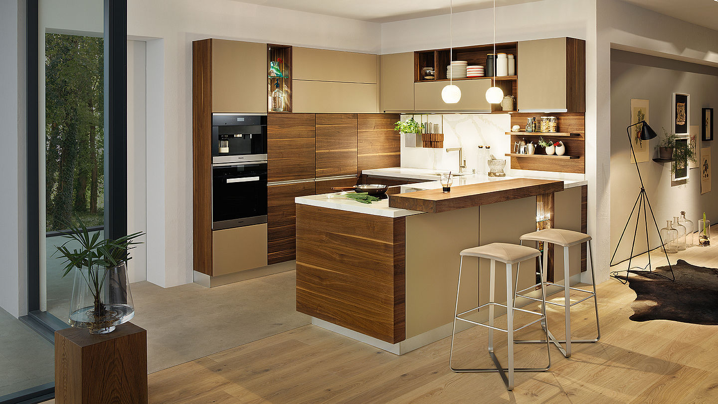 Awesome Cucina Ciliegio Moderna Pictures - Home Interior Ideas ...