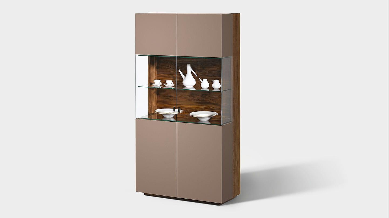 Credenza Con Alzata Moderna : Credenza con alzata moderna in legno cubus team video