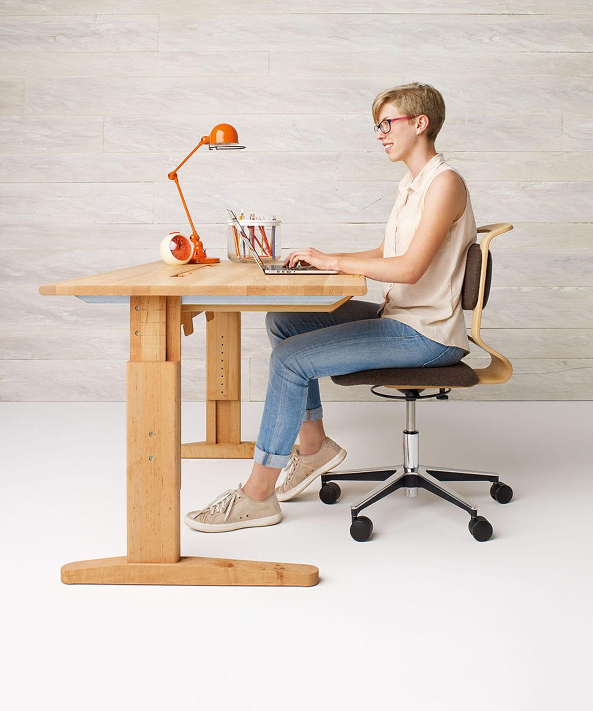 scrivania in legno / moderna / per bambini - team 7 - Scrivania In Legno Per Bambini