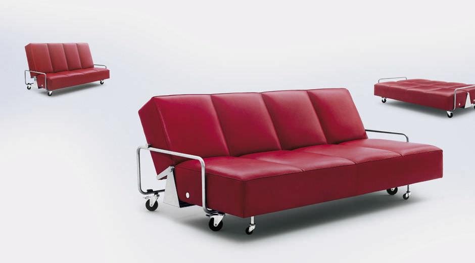 Divano Reclinabile 4 Posti : Divano letto moderno in pelle posti couch by frederick