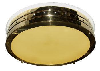 Applique classica in ottone in legno led woka