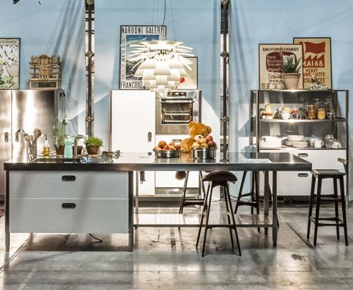 Isola cucina - CONVIVIO 125X310 - ALPES-INOX
