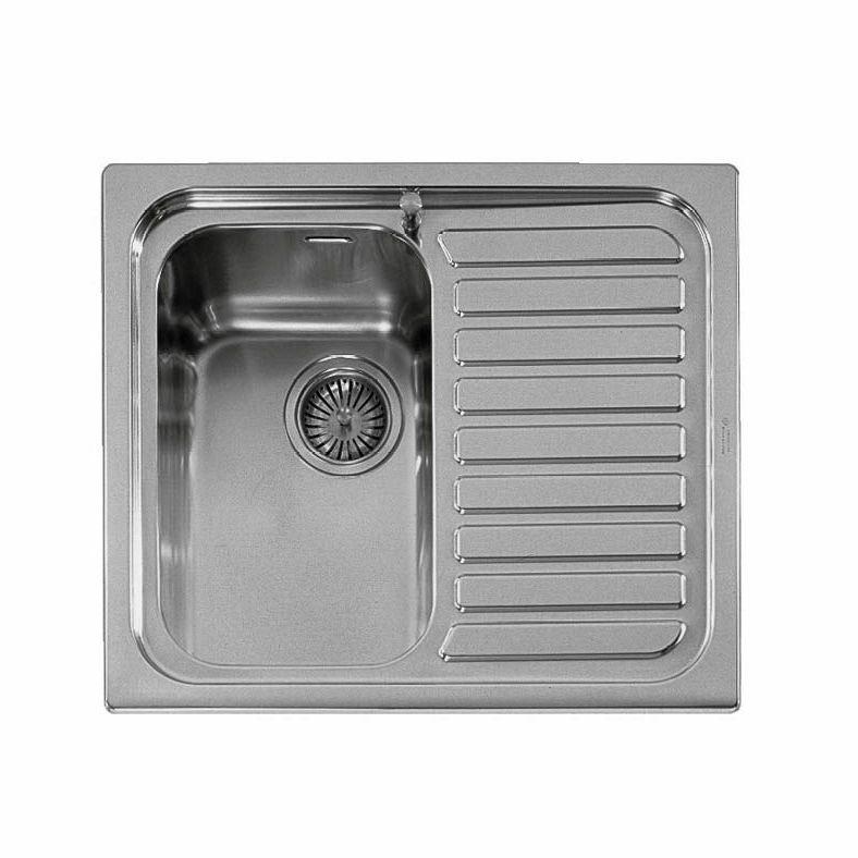 Vasca Da Cucina In Acciaio : Lavello a 1 vasca in acciaio inox con gocciolatoio outlet