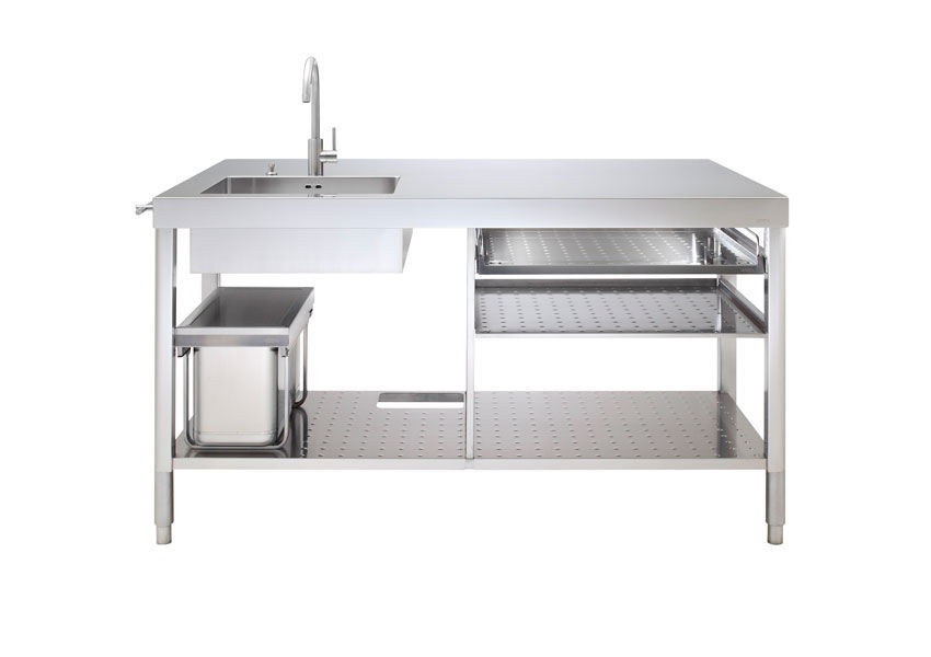 Isola cucina - UNIT 160 - ALPES-INOX