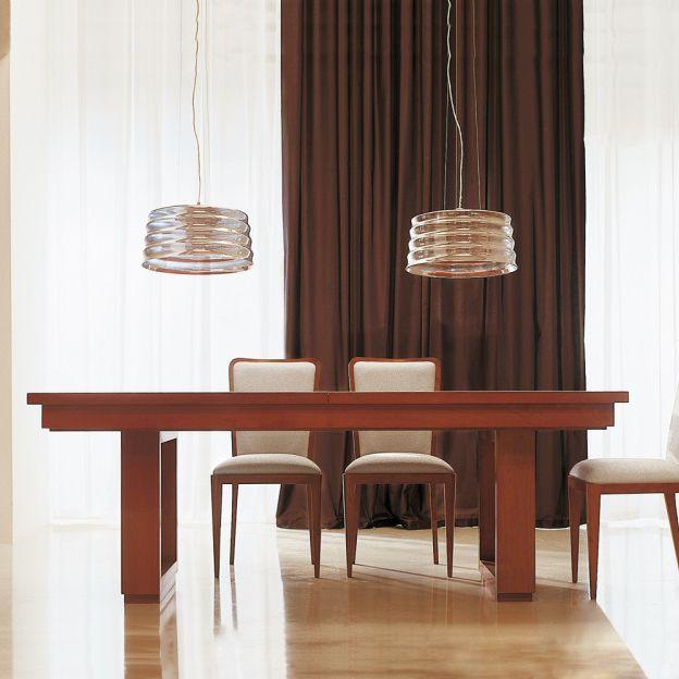 Tavolo Quadrato Allungabile Ciliegio.Tavolo Allungabile Ciliegio Moderno Giuseppepinto