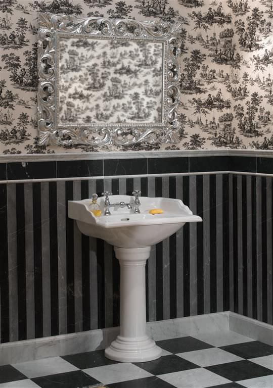Piastrella da interno / da bagno / da pavimento / in marmo ...
