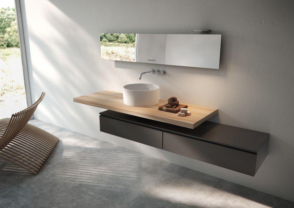 Radiatore elettrico a specchio moderno da bagno tavola total