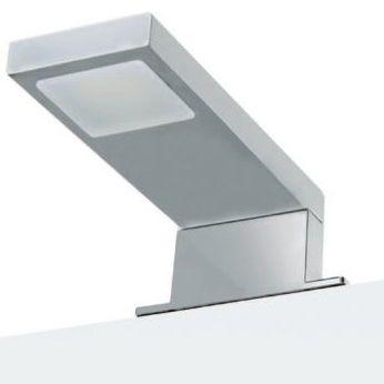 Applique moderna da bagno in vetro rettangolare new cube