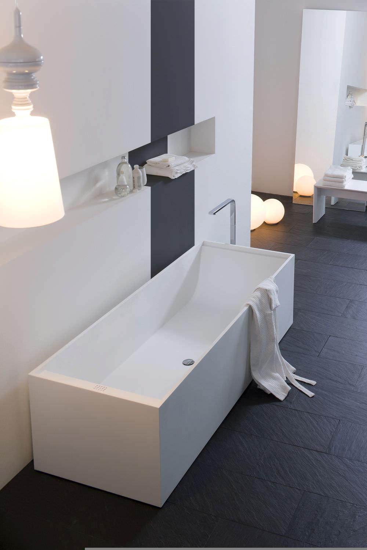 Vasca da bagno da appoggio / in Corian® - Arlexitalia