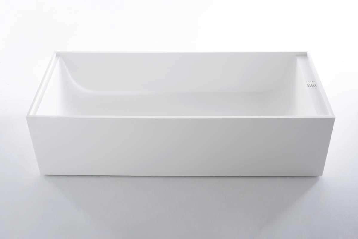 Vasca Da Bagno Freestanding Corian : Vasca da bagno da appoggio in corian arlexitalia