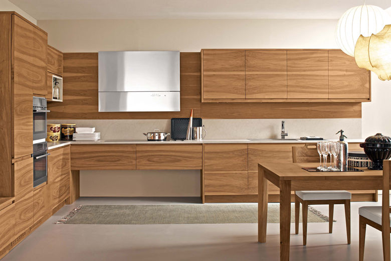 Cucine In Legno Moderne. Cucine In Legno Moderne A Modena With ...