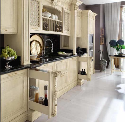 Cucina classica / in legno massiccio / in legno - BAMAX