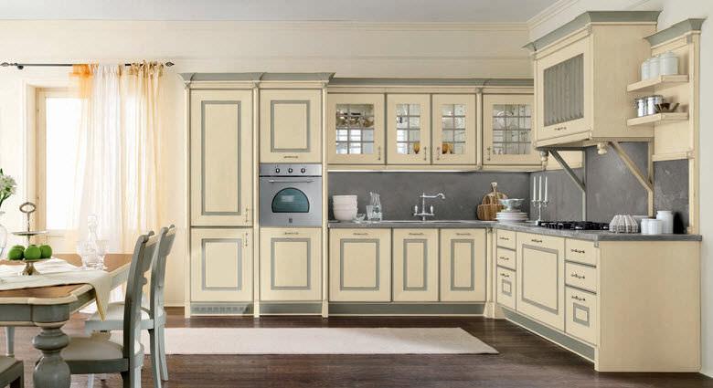 Cucina classica / in legno massiccio / in legno - SWEDEN AVORIO ...