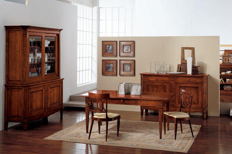 Credenza Con Alzata Classica : Credenza con alzata classica in legno fiocco di seta bamax