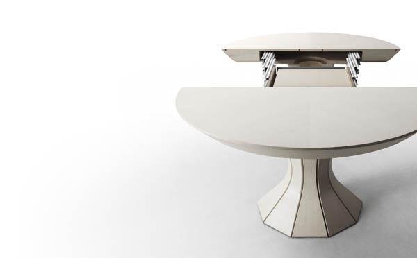 Tavoli allungabili rotondi moderni | Relatex