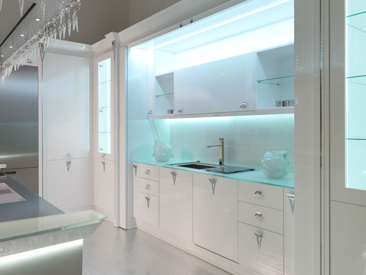 Awesome Cucina In Vetro Contemporary - Embercreative.us ...