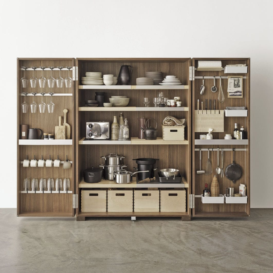 Mobile alto per cucina moderno / in legno - TOOL CABINET - Bulthaup