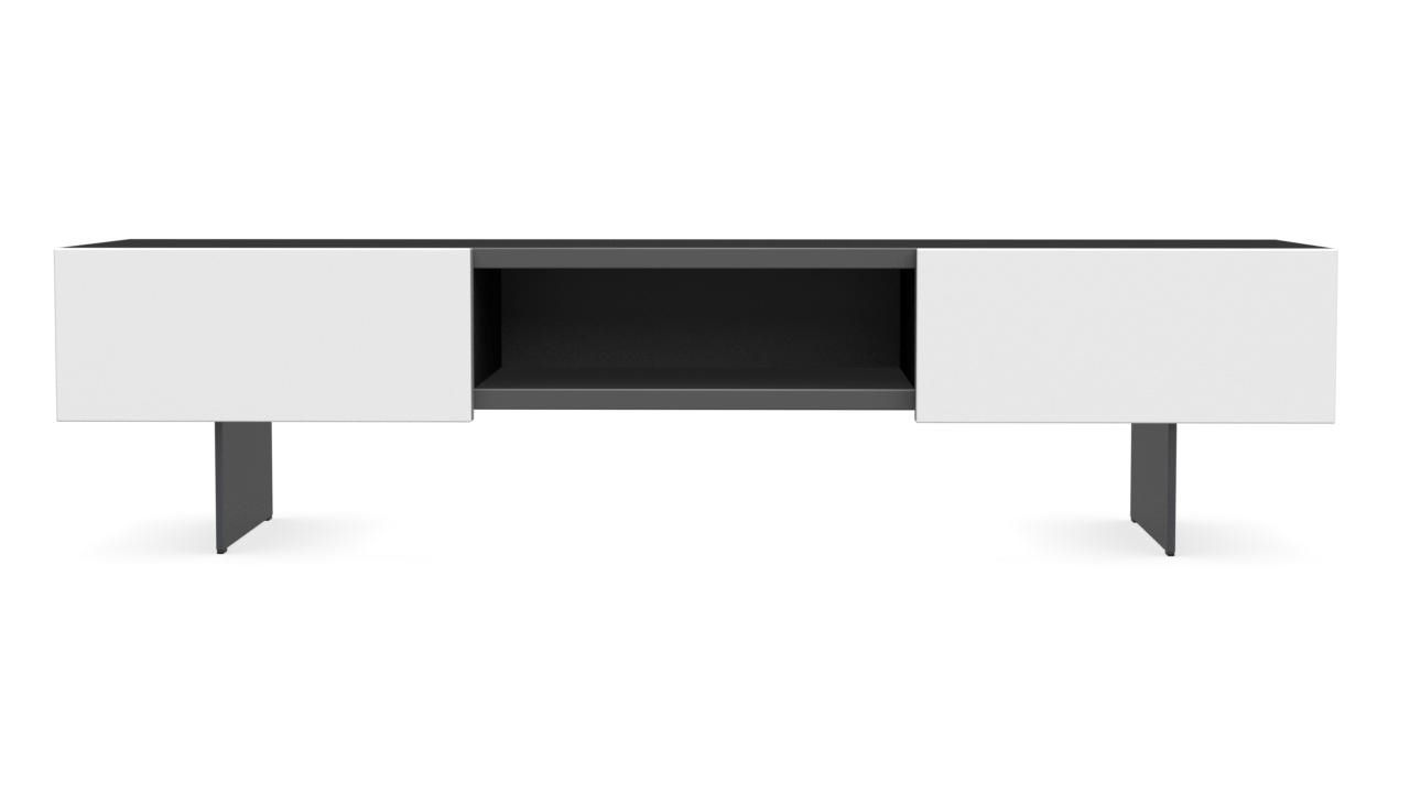Mobile porta TV moderno / lowboard / in legno / in metallo - SIPARIO ...
