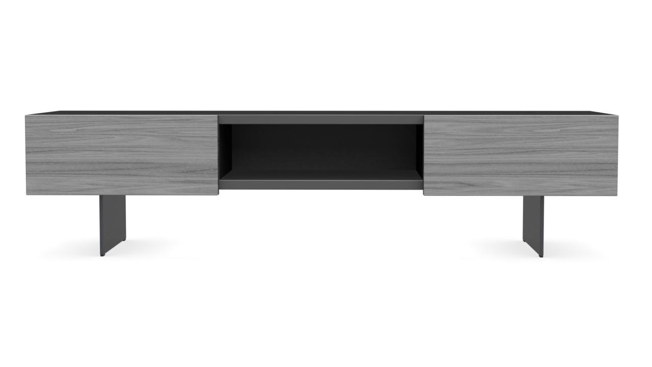 Mobile porta TV moderno / lowboard / in legno / in metallo ...