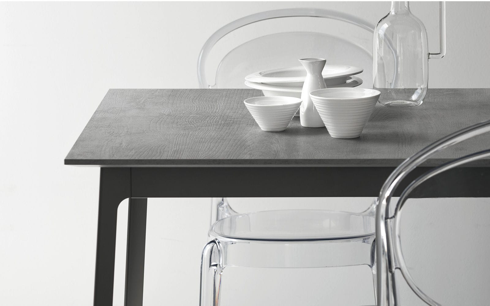 Tavolo da pranzo moderno / in legno / in metallo / in melamminico ...