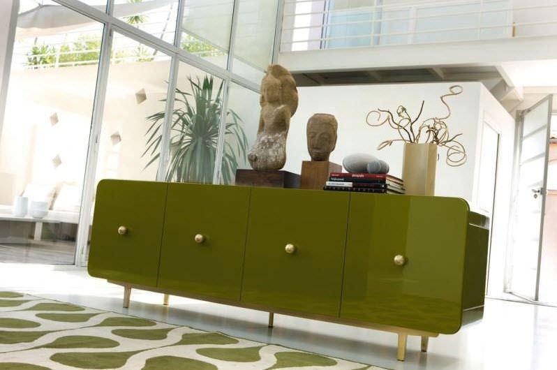 Credenza Barocca Moderna : Credenza moderna in legno laccato alessia cr