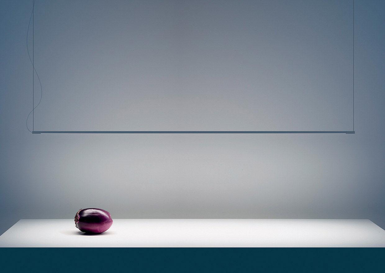 Lampade A Sospensione Led : Luce a sospensione led lineare in metallo shanghai davide