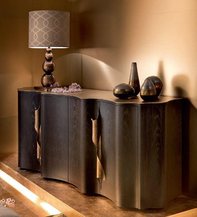 Credenza moderna / in legno / in legno laccato - SIPARIO - EGO ...