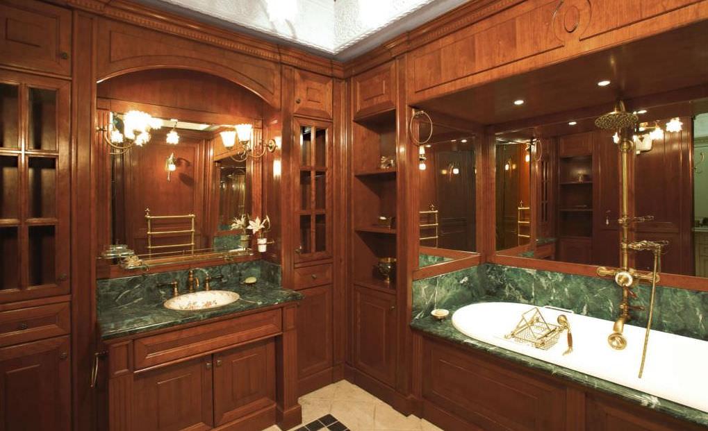 bagno classico in legno by carlo frulla faoma
