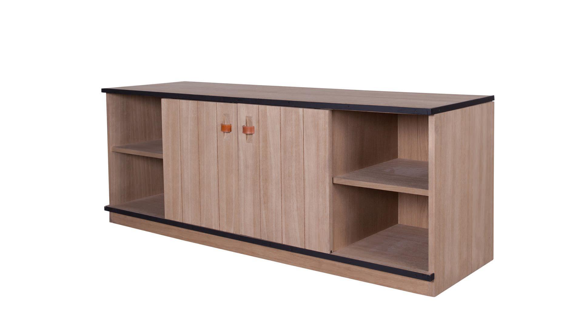 Mobile TV classico / in quercia - DEXTER - FLAMANT Home Interiors