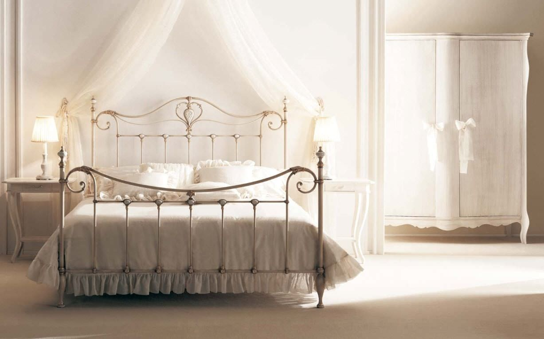 Letto standard / matrimoniale / in stile / in ferro battuto - MELODY ...