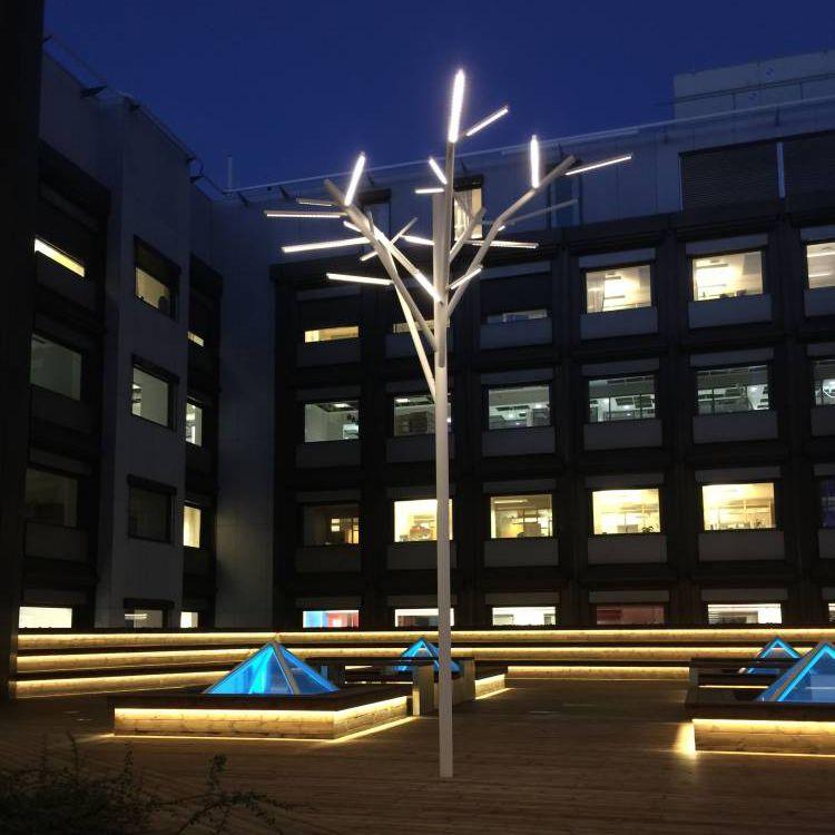Lampione urbano / design / in acciaio inossidabile / LED - ALBERO by ...