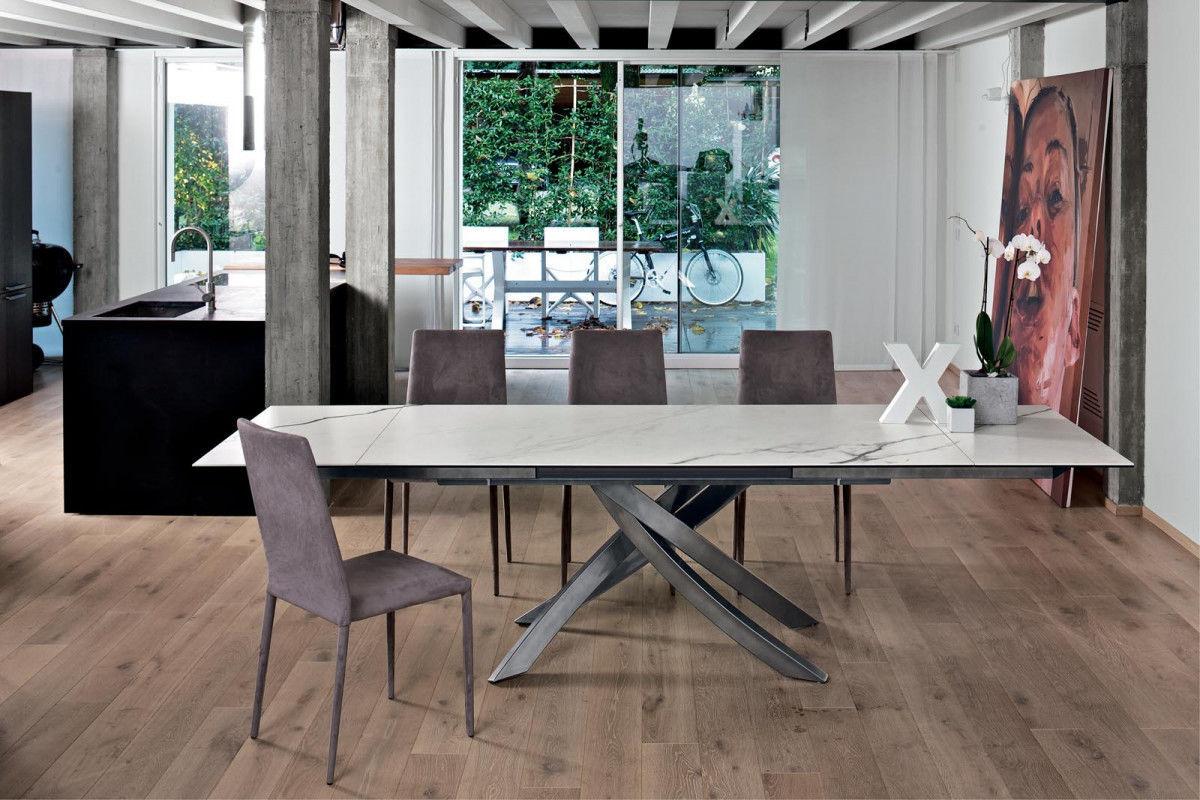 Tavolo moderno / in vetro / in marmo / in calcestruzzo - ARTISTICO ...