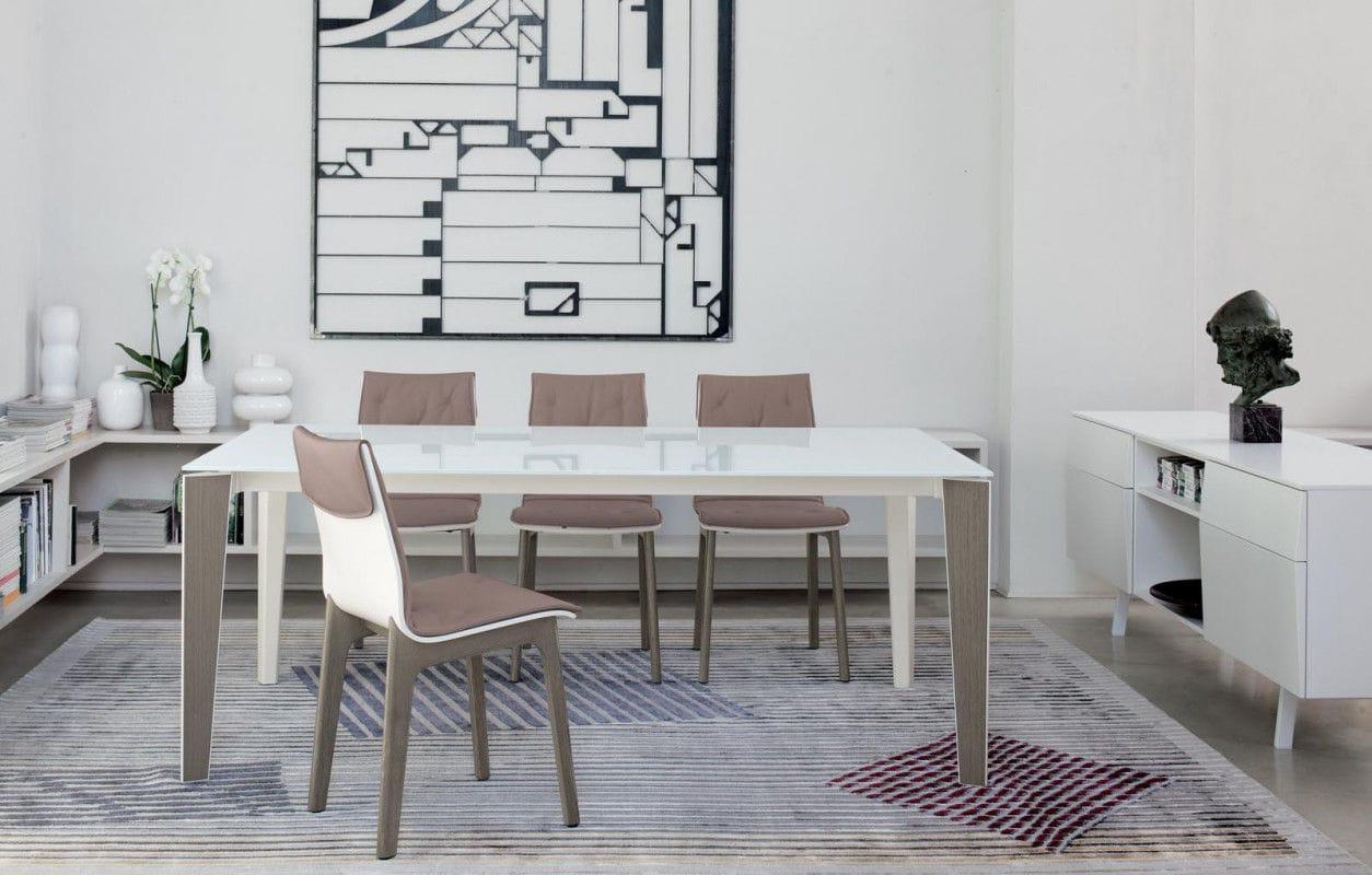 Tavolo moderno / in vetro / in marmo / in calcestruzzo - SENSO ...