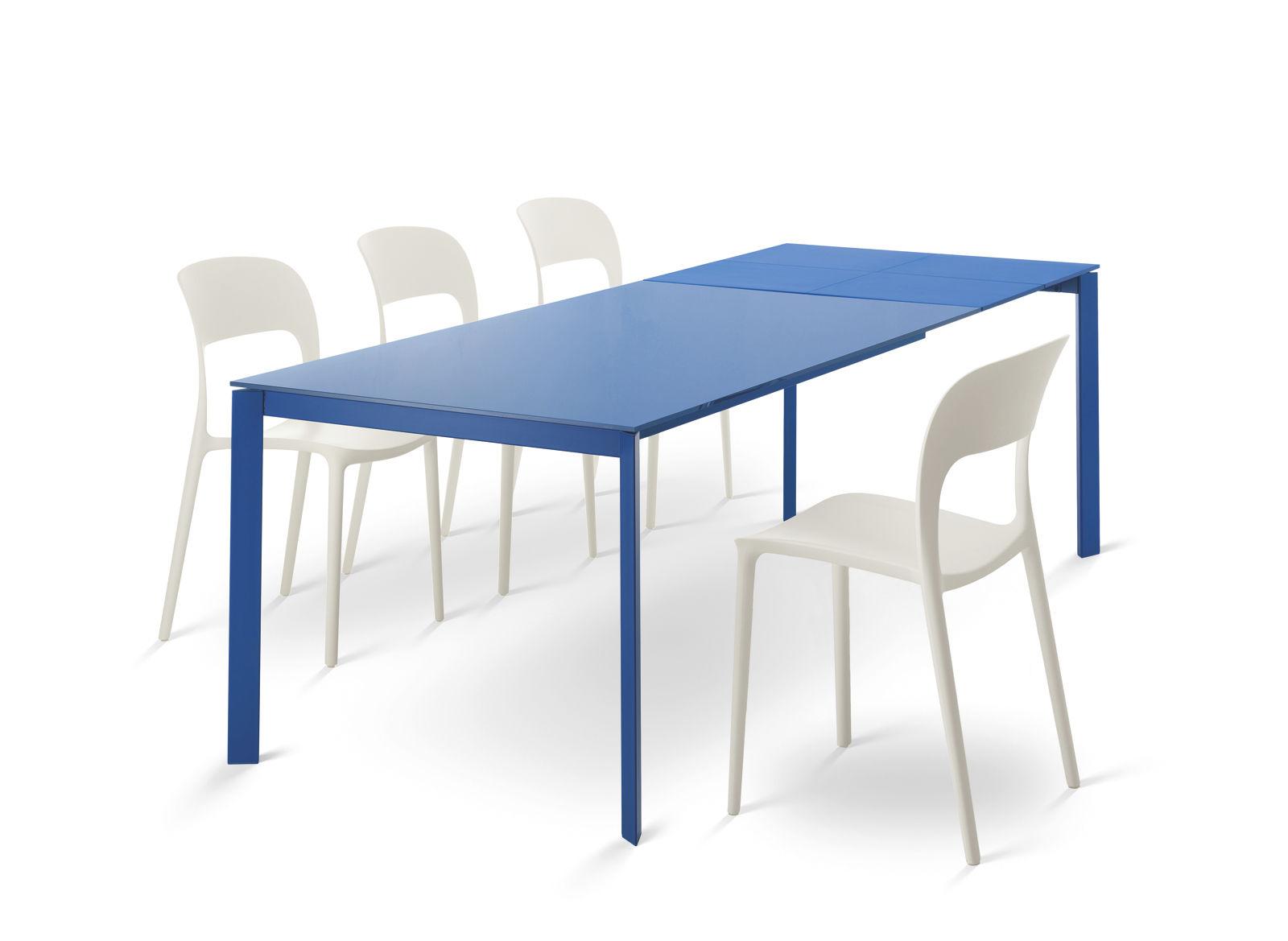 Tavolo moderno / in metallo / rettangolare / da interno - DUBLINO ...