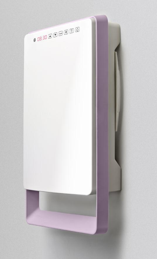 Radiatore scaldasalviette elettrico / in metallo / moderno ...