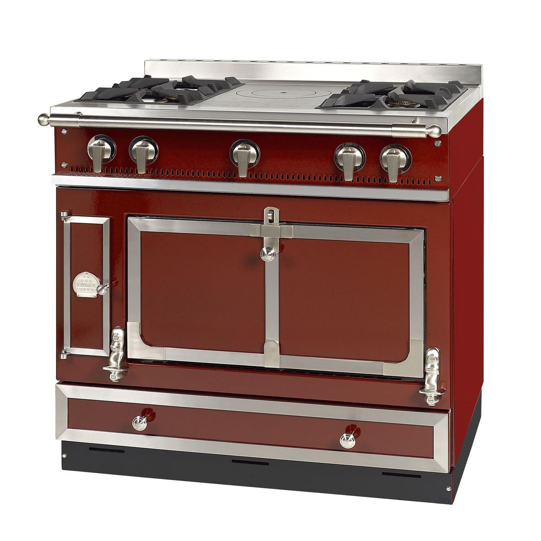 Blocco cucina a gas / elettrico / in acciaio inox - LE GRAND CASTEL ...