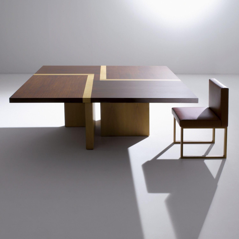 Tavolo moderno / in legno / quadrato / per ufficio - BD 07 by ...